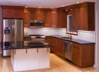 Hand Made Cherry Kitchen Cabinets by Neal Barrett ...