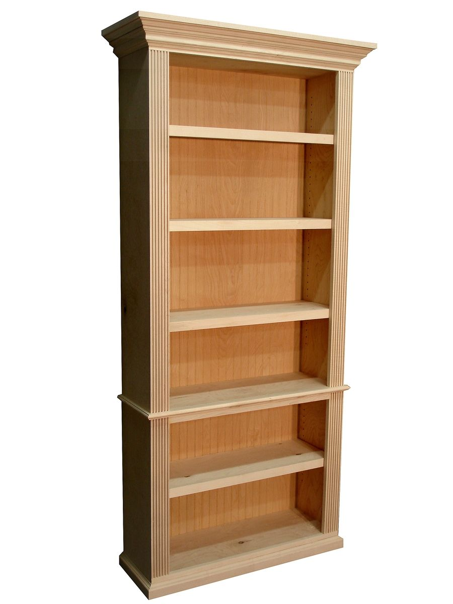 Mid Century Modern Bookcase Custom Traditional Style Bookcase By Durham Bookcases