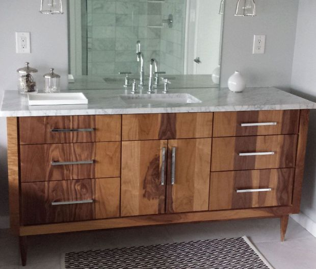 handmade custom bathroom vanities