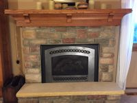 Hand Crafted Custom Quarter-Sawn Red Oak Mantel- Craftsman ...