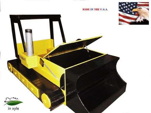 Custom Bulldozer Bed Toddler To Twin Convertible By