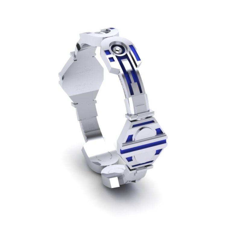 Custom Made Droid Plain Band