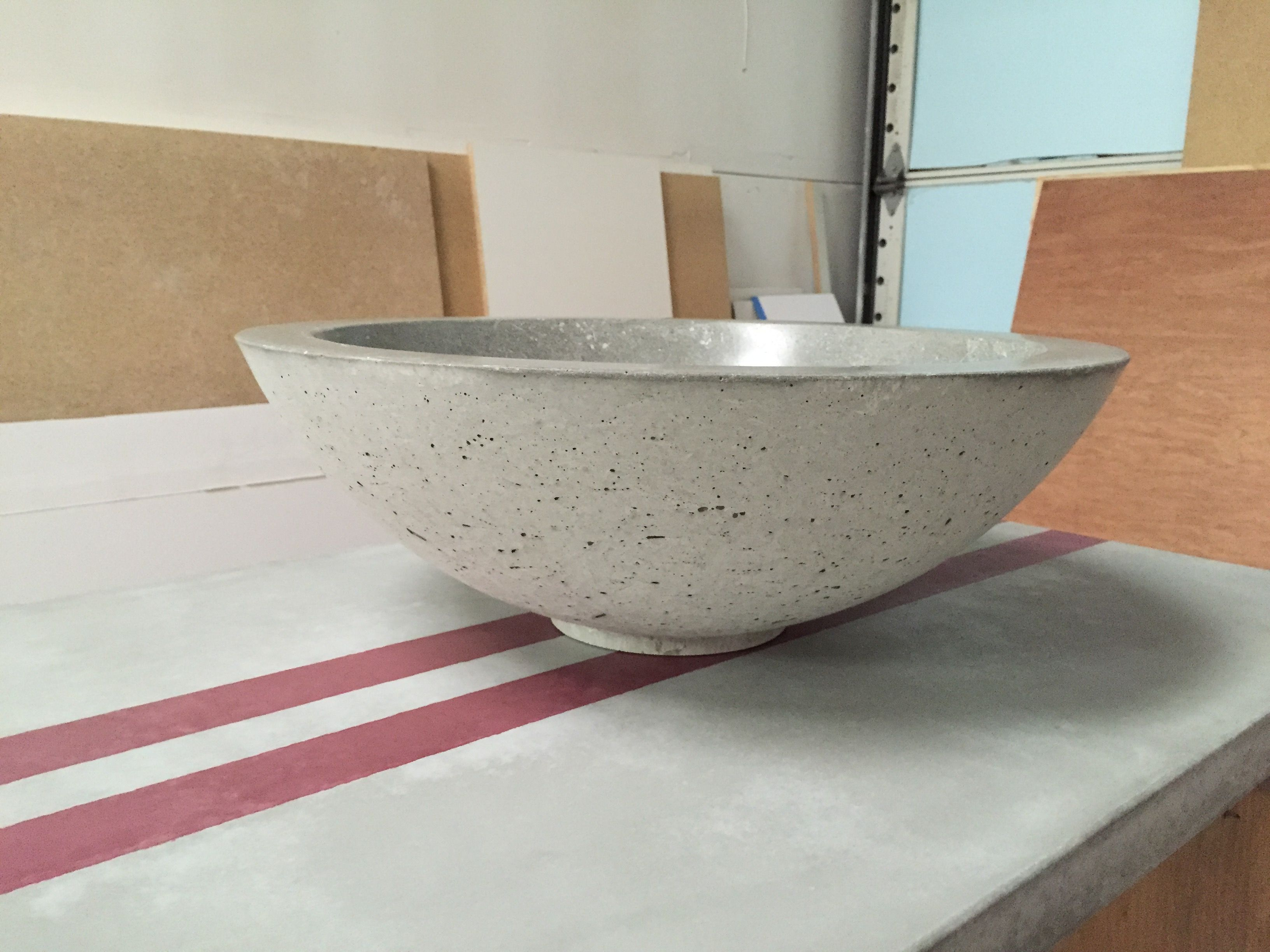 Handmade Concrete Vessel Sink By Independence Concrete