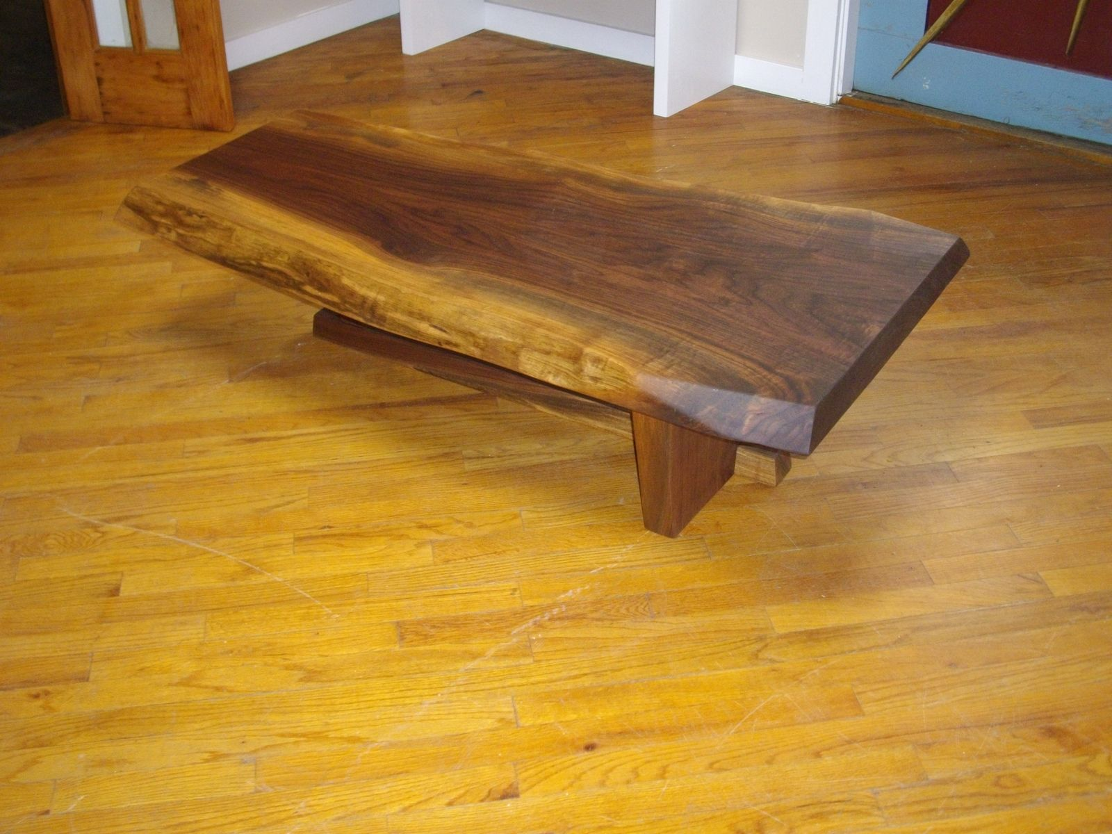 Live Edge Coffee Table Custom Live Edge Coffee Table By Peter Lawrence