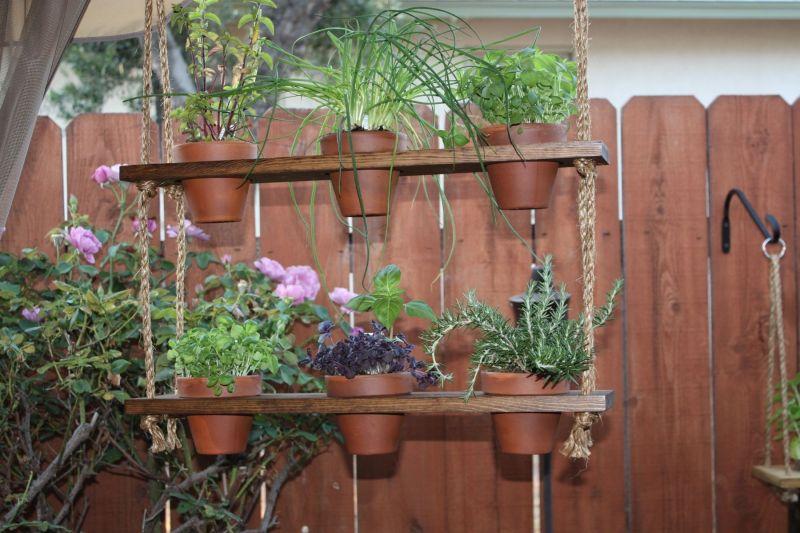 Large Of Hanging Herb Garden