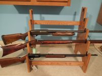 Buy a Hand Made 5 Gun Rack Display Unit, made to order ...