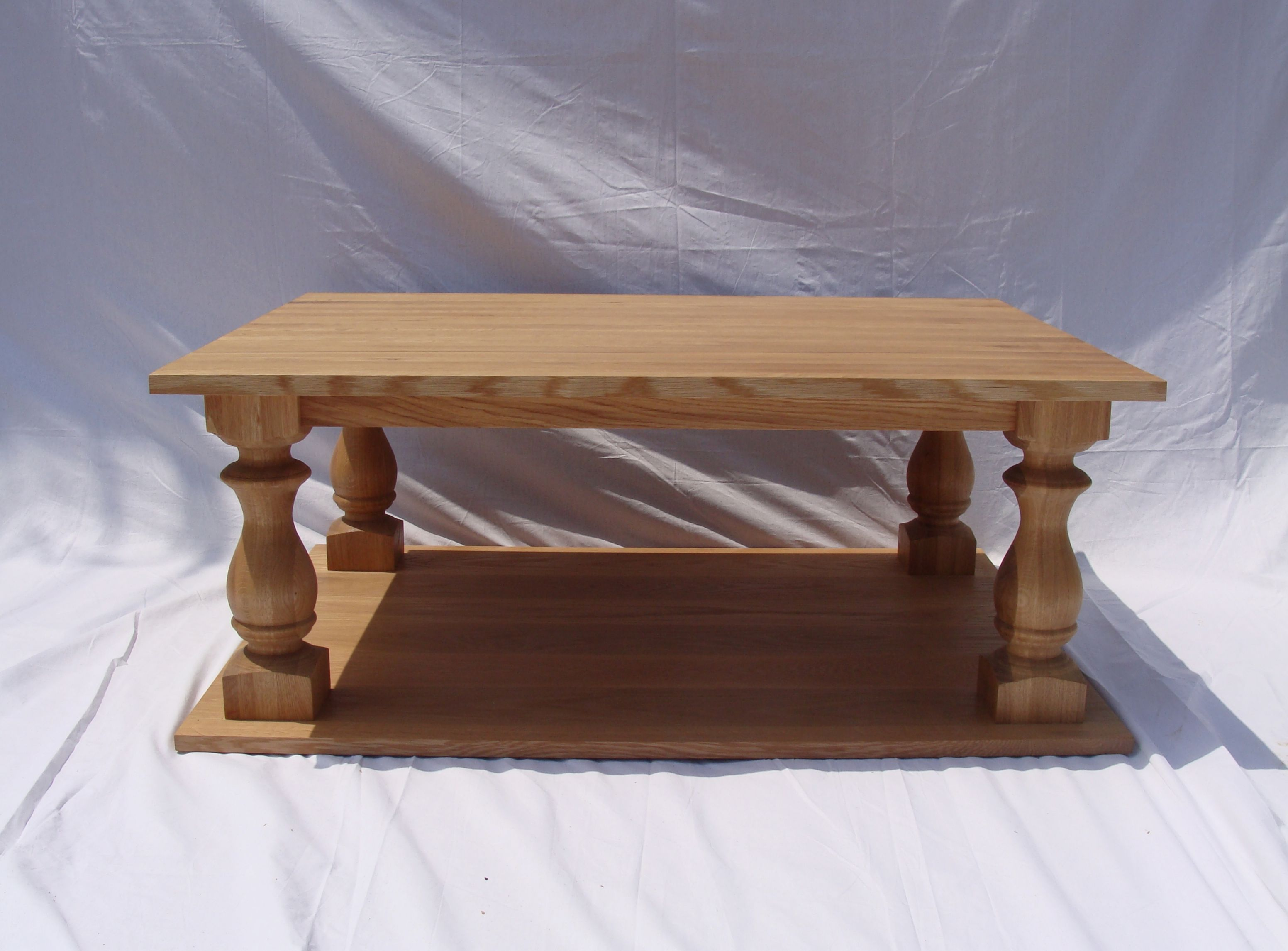 White And Timber Coffee Table Buy A Handmade Quarter Sawn White Oak Coffee Table Made