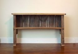 Small Of Rustic Console Table