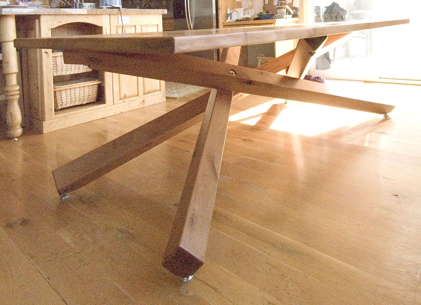 Woodworking Table Ideas Hand Crafted Dining Table By Terry 39s Fine Woodworking