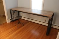 Handmade Modern Industrial Desk / Work Bench by K Modern ...