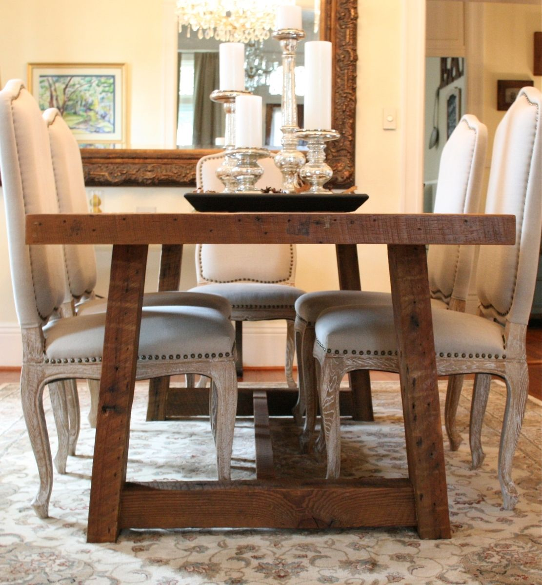 Pictures Of Dining Tables Custom The Pecky Dining Table Farmhouse Style Table Made
