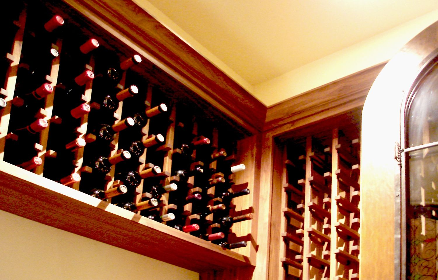 Custom Made Cabinets Handmade Wine Cabinets By Adney And Sons Fine Woodworking