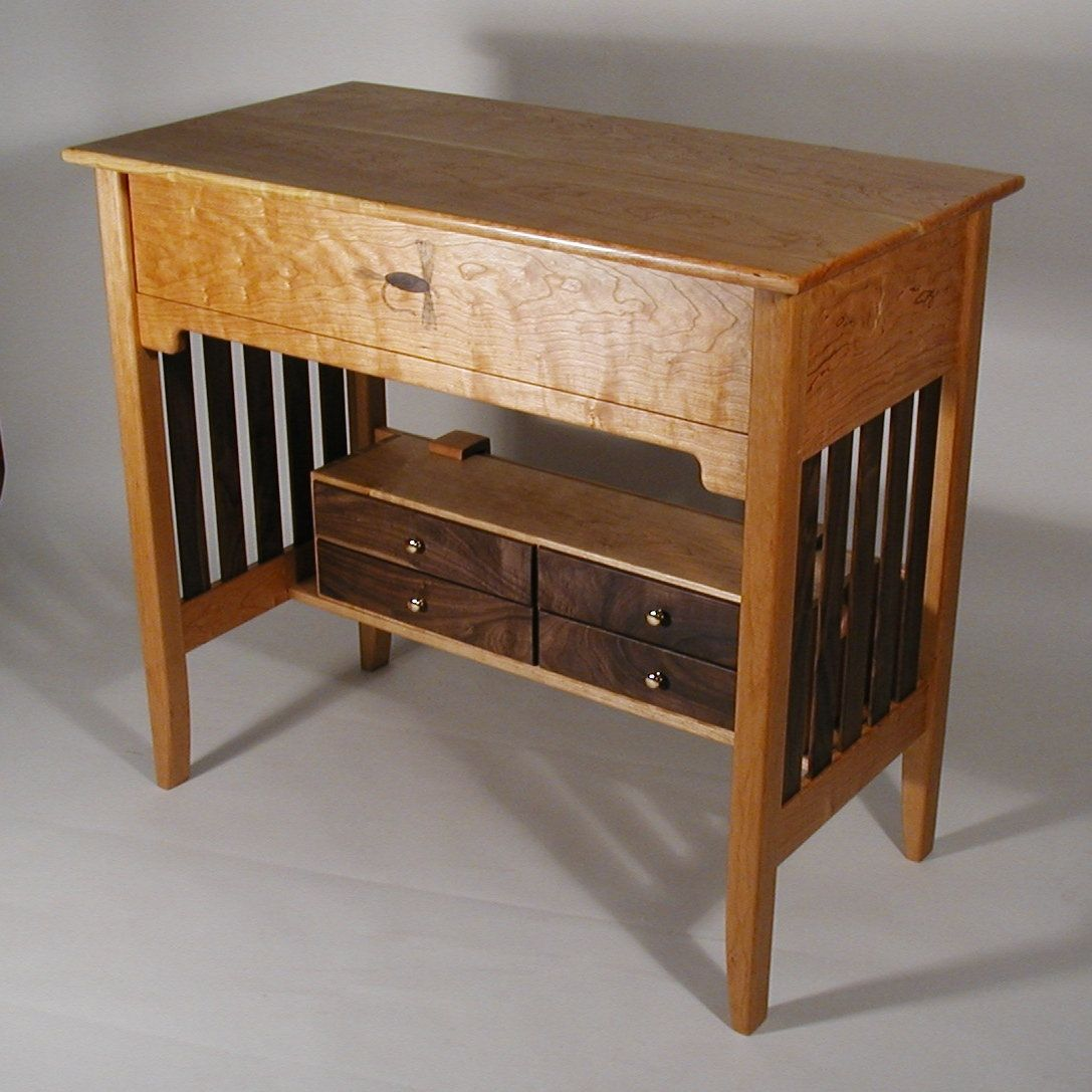 Fly Tables Custom Made Fly Tying Desk By Shinn Custom Woodworks