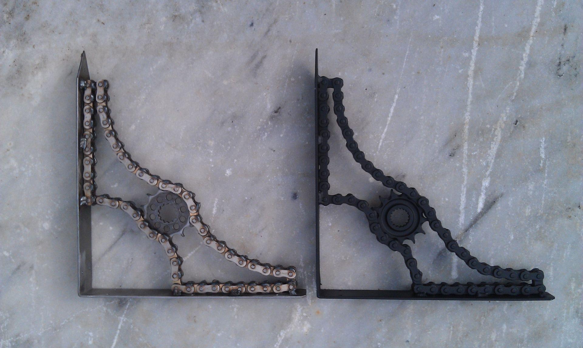Custom Made Shelf Brackets By Moto Metal Fab Custommadecom