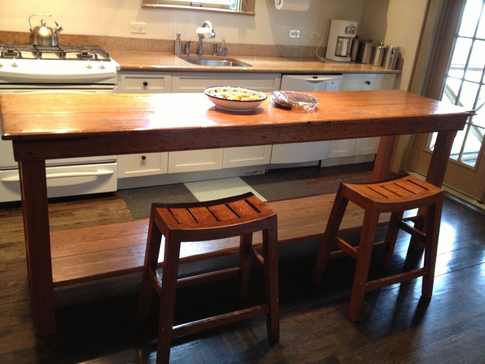Kitchen Tables Handmade Rustic Kitchen Table By Fearons Fine Woodworking