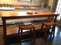 Handmade Rustic Kitchen Table by Fearons Fine Woodworking ...