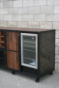 Buy a Handmade Beverage Center, Liquor Cabinet ...
