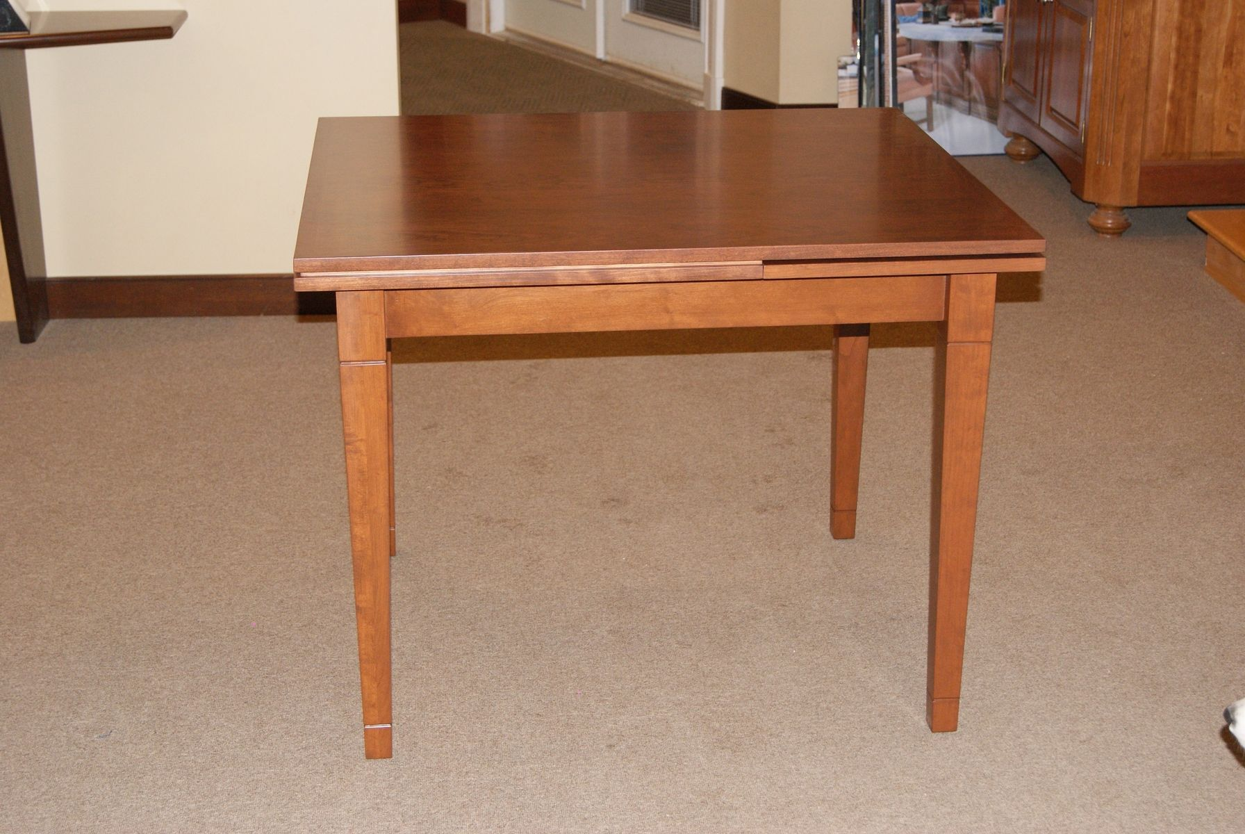 Table With Slide Out Leaves Handmade Dutch Pull Out Table By M S Moeller Cabinetry