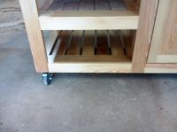 Hand Crafted Morgan Ashley Grill Table For Big Green Egg ...