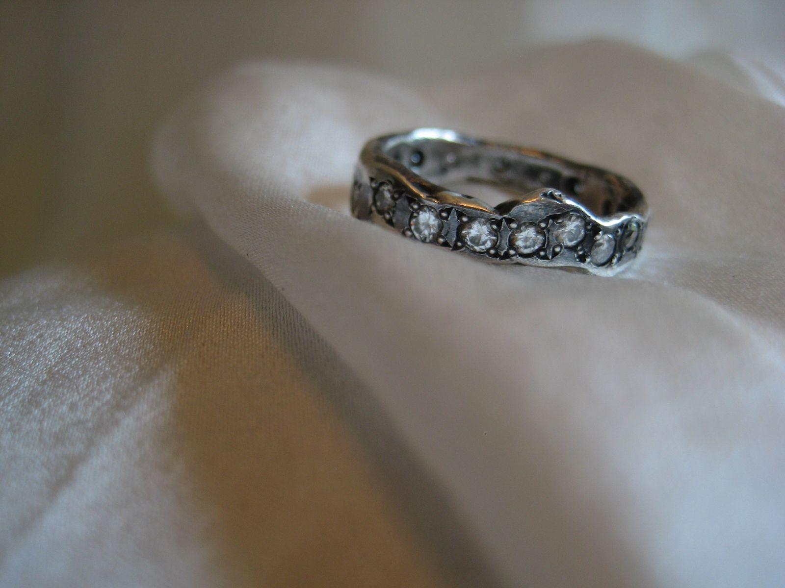 engagement wedding ring order handmade wedding rings A Handmade Elizabeth Wedding Band Stackable Ring Enement
