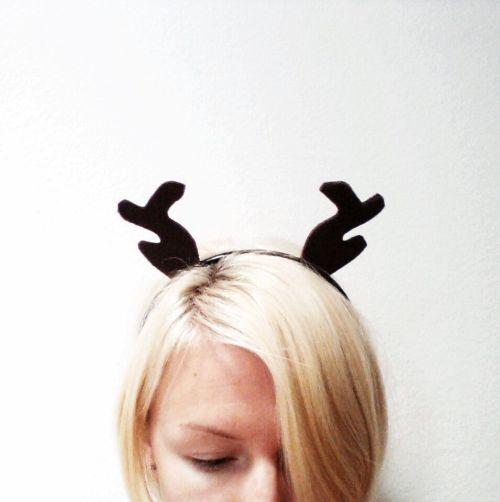 Medium Of Reindeer Antlers Headband