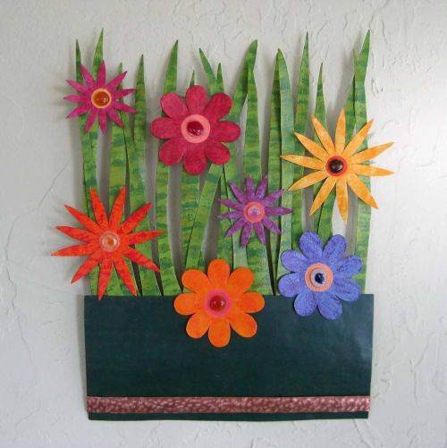 Medium Of Garden Wall Art Ideas