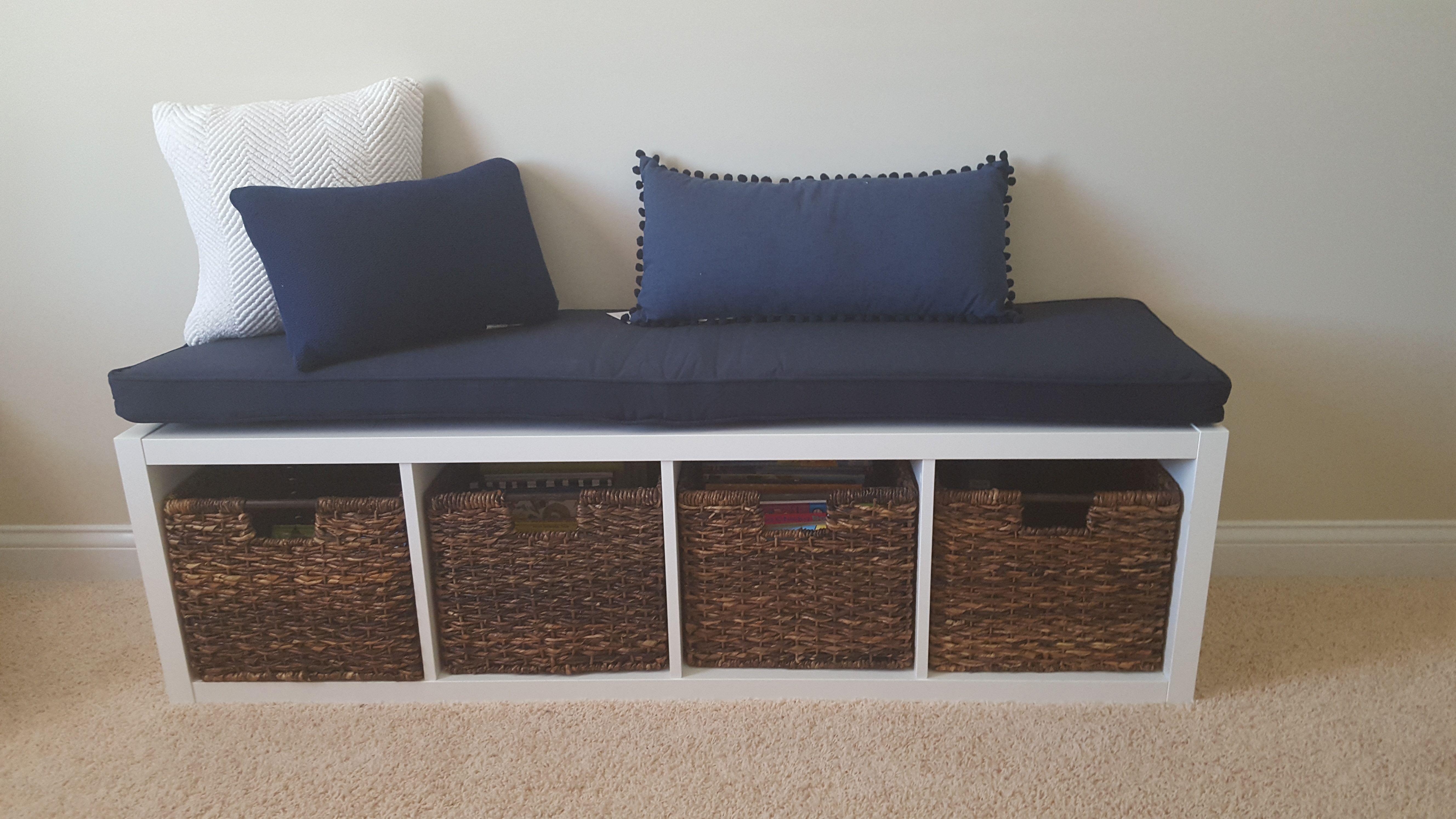 Handmade Ikea Kallax Cushion Bench Cushion By Hearth And