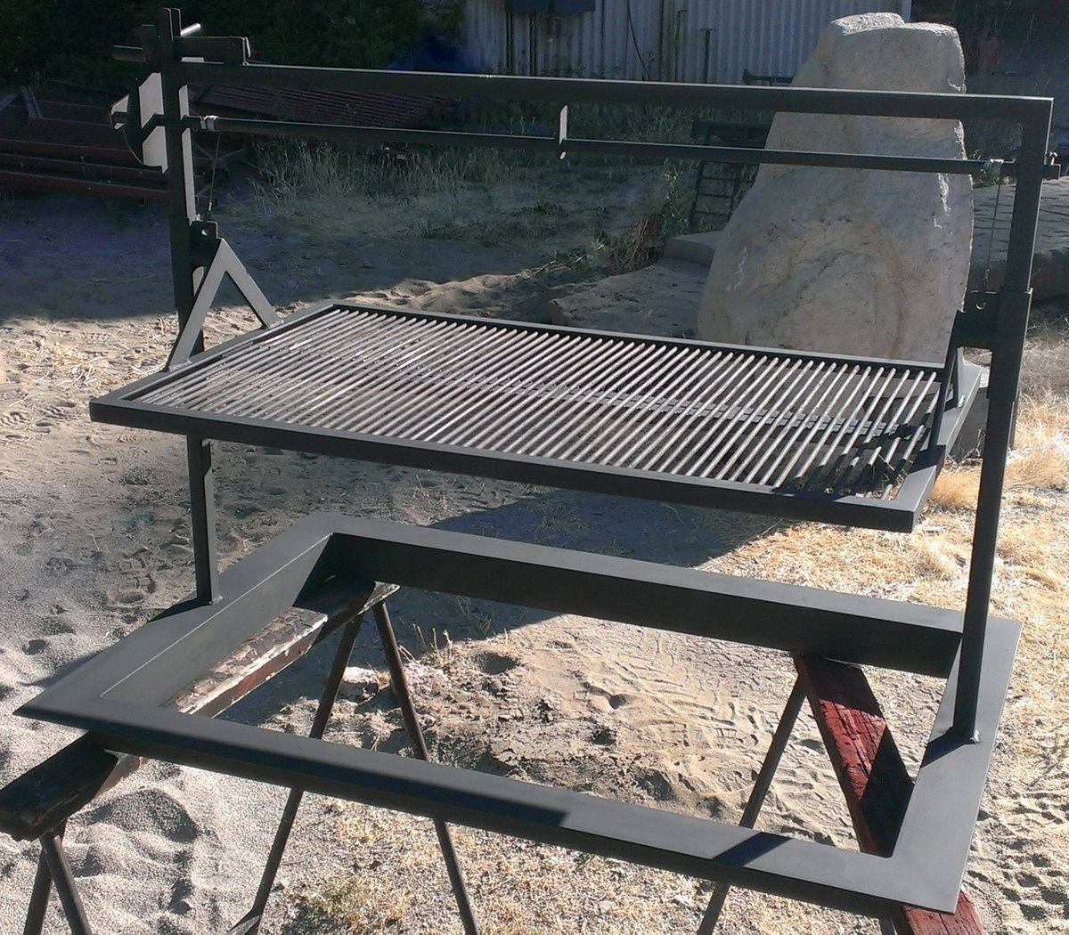 Furniture Stores Santa Maria Hand Made Santa Maria Style Custom Barbeque Bbq By Napa