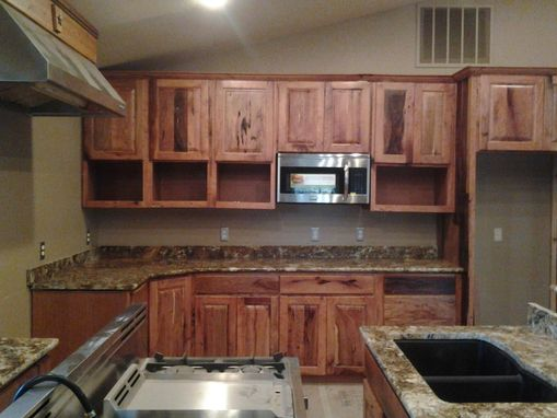 Building A Kitchen Island Out Of Cabinets Handmade Mesquite Kitchen / Custom Cabinets By Top Quality