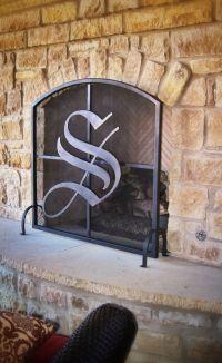 Custom Metal Fireplace Screen by GARZAMADE LLC ...