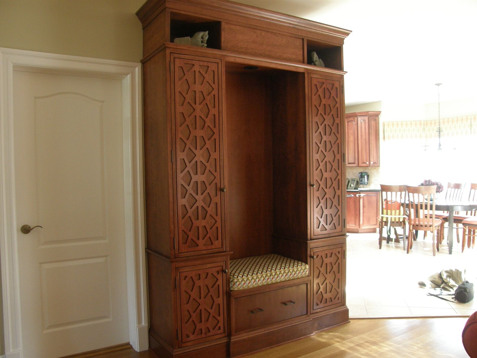 Custom Made Cabinets Hand Made Custom Storage Cabinet By Woodworking By Erminio