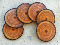 Handmade Coasters, Colorado Aspen Wood Coaster Set Of 6 by ...