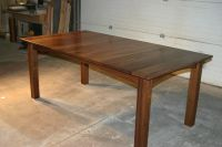 Handmade Walnut Dining Table by Canton Studio | CustomMade.com