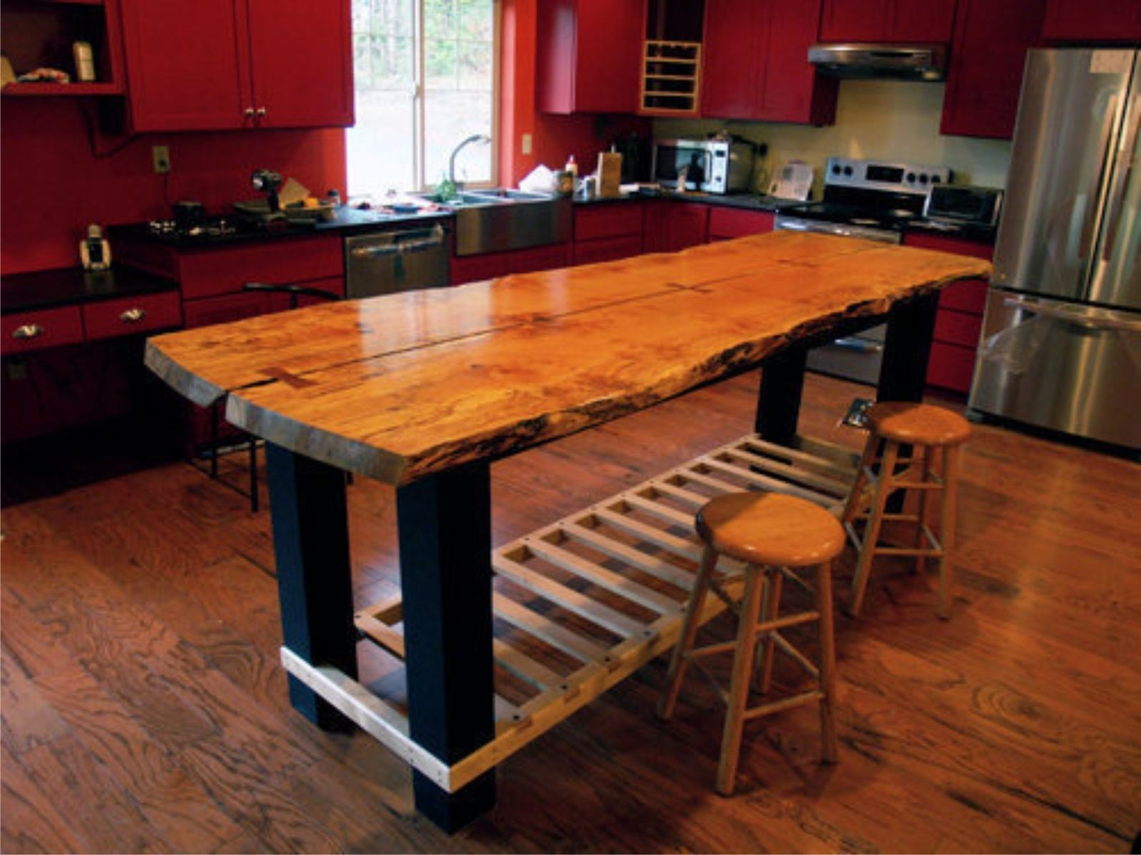 Cool Kitchen Table Handmade Custom Island Table By Jeffrey Coleson Art And