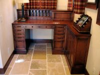 Hand Made Custom Alder Built-In Desk by Ps Woodworking ...