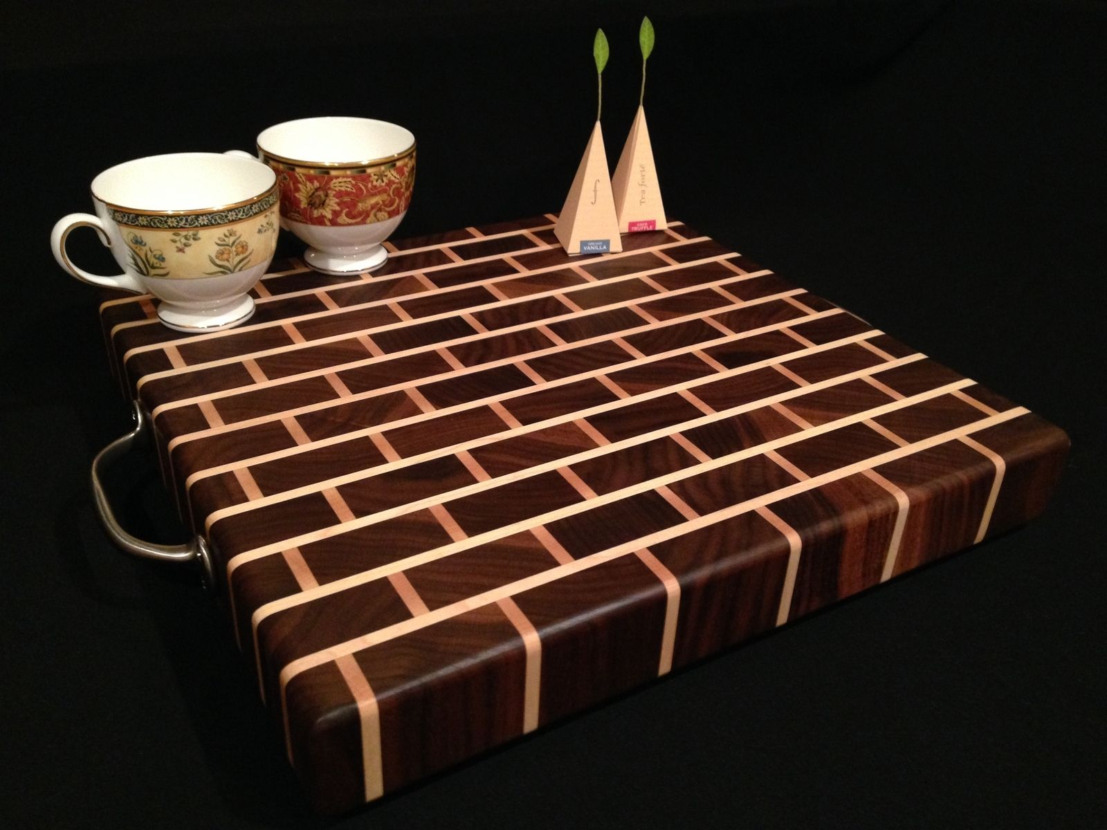 Cool Cutting Board Designs Buy A Handmade Signature Design Black Walnut Bar Block