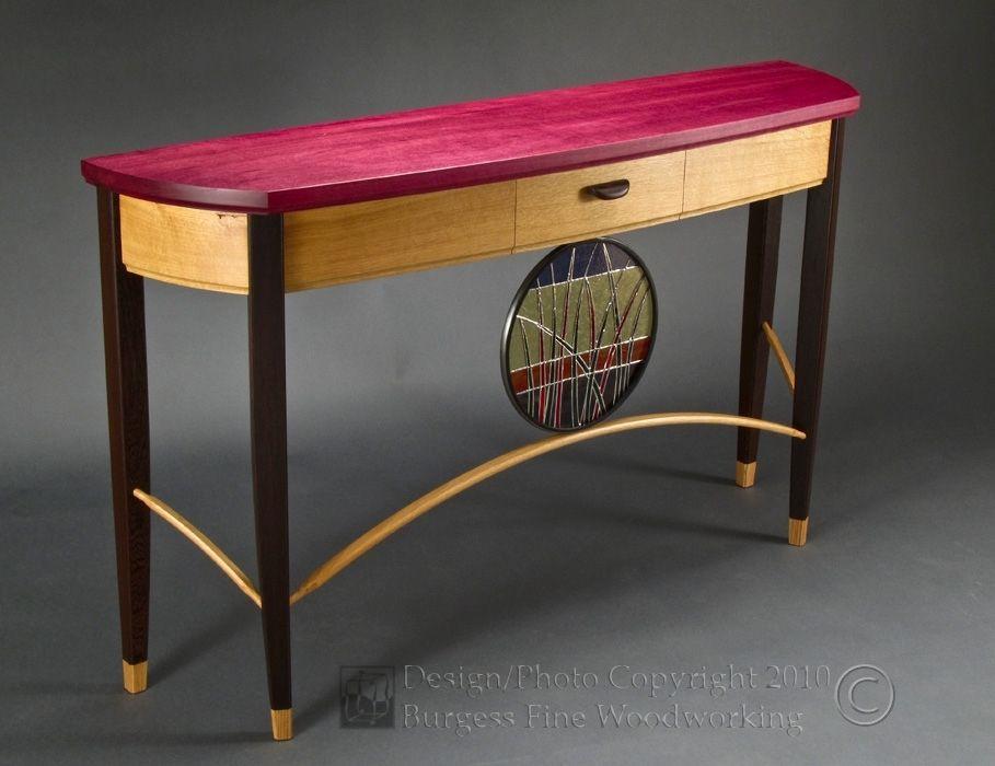 sofa table oak
