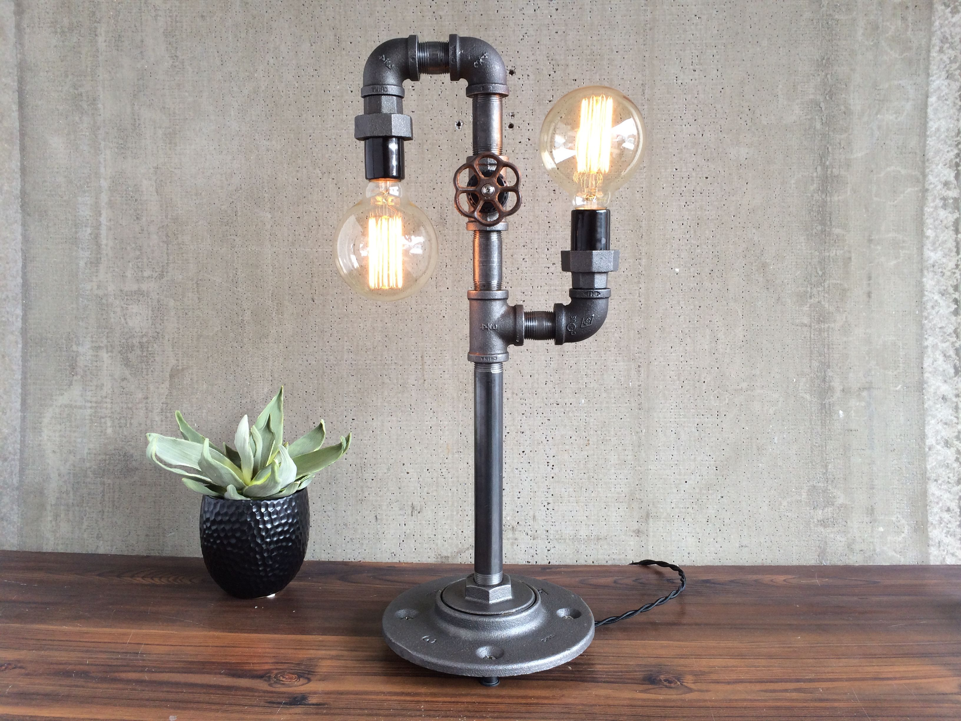 Industrial Decor Lighting Buy A Hand Crafted Industrial Edison Bulb Light Iron