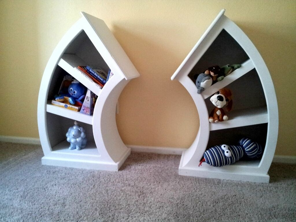 Whimsical Shelves Custom Whimsical Curvy Dr Seuss Alice In Wonderland