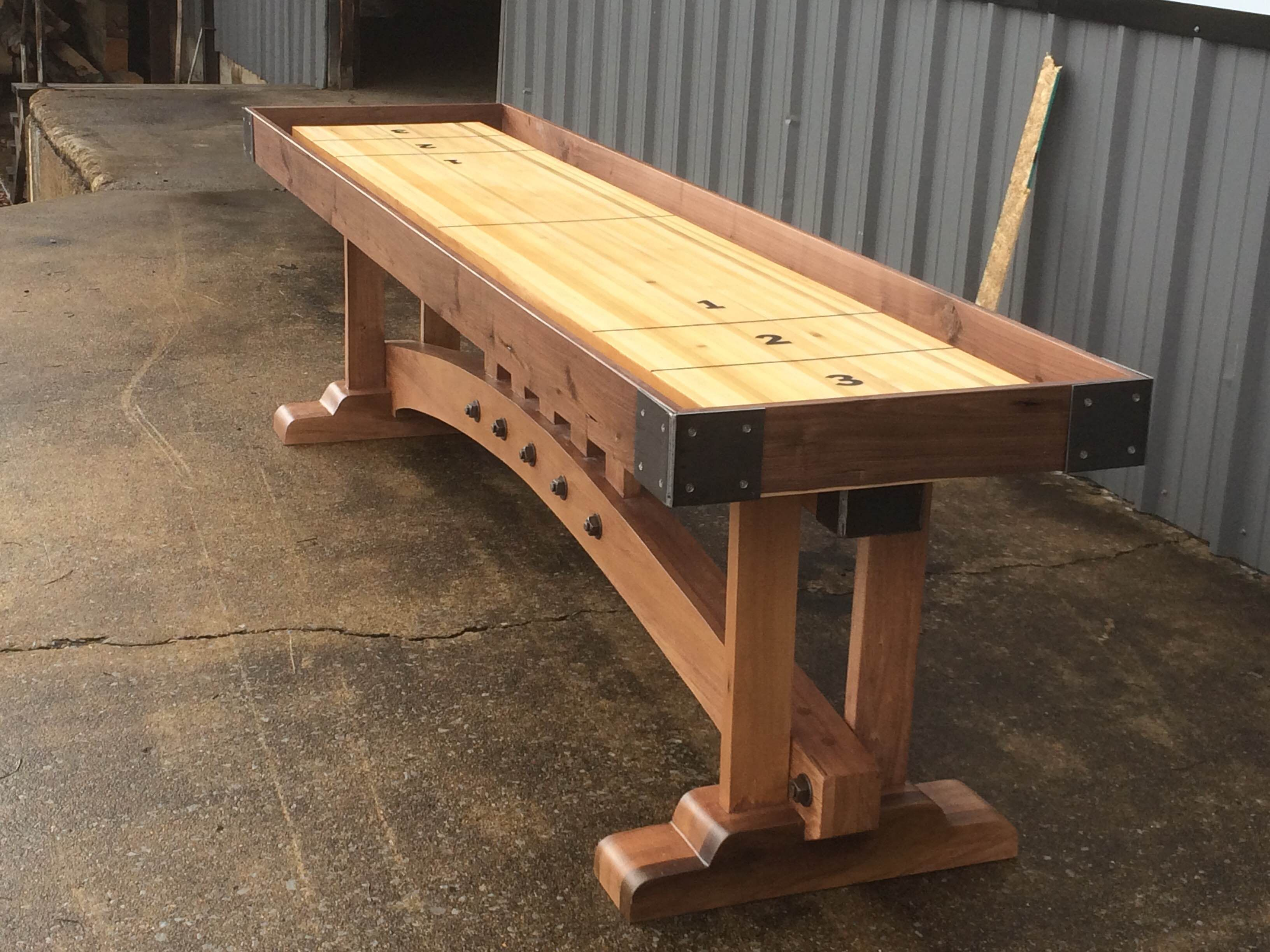 Buy a Custom Craftsman Shuffleboard Table, made to order