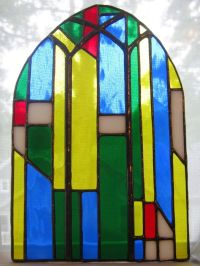 Custom Mini Stained Glass Window For Teacher As A Gift by