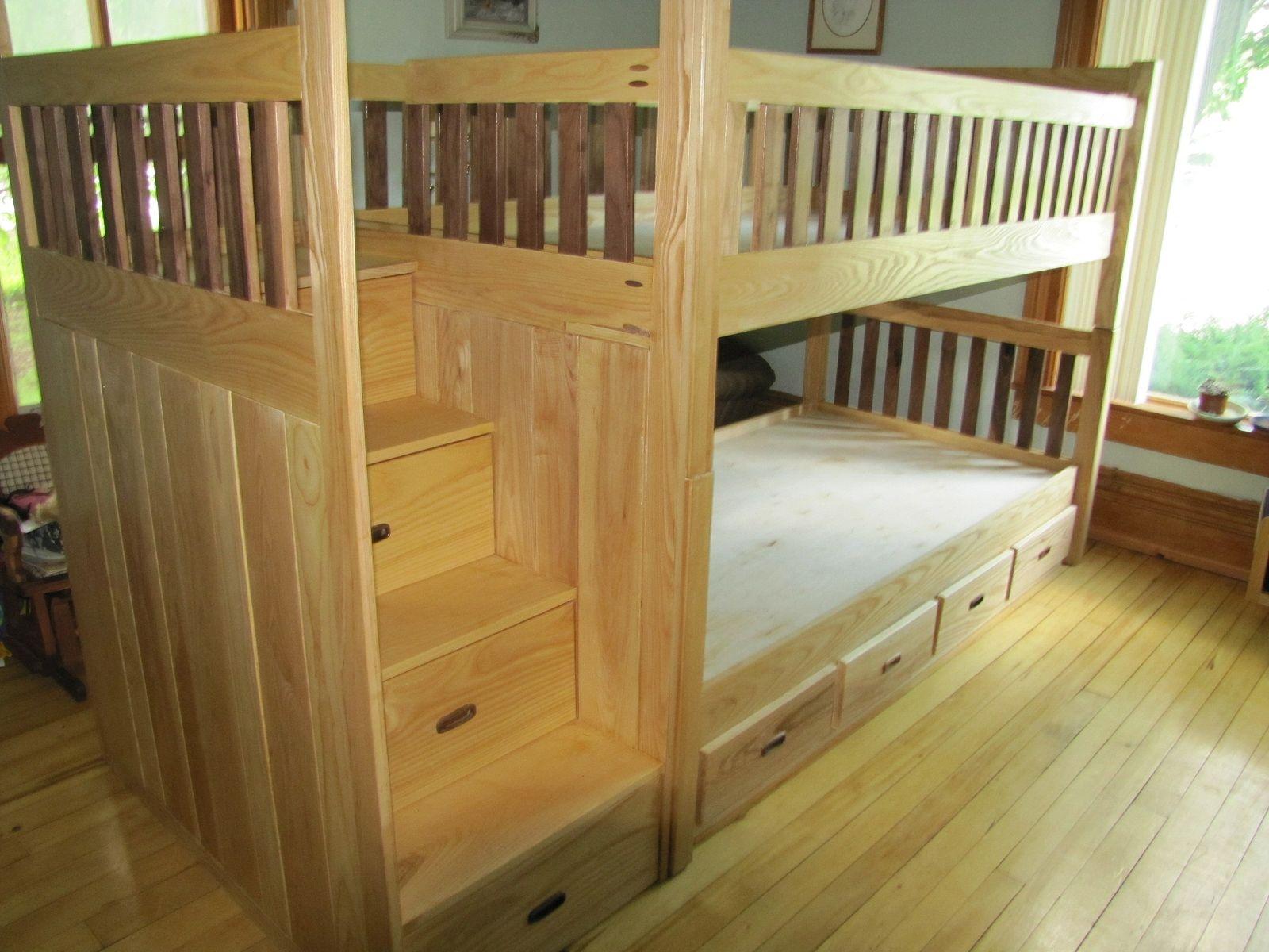 Custom Bunk Bed By Weber Wood Designs Custommadecom