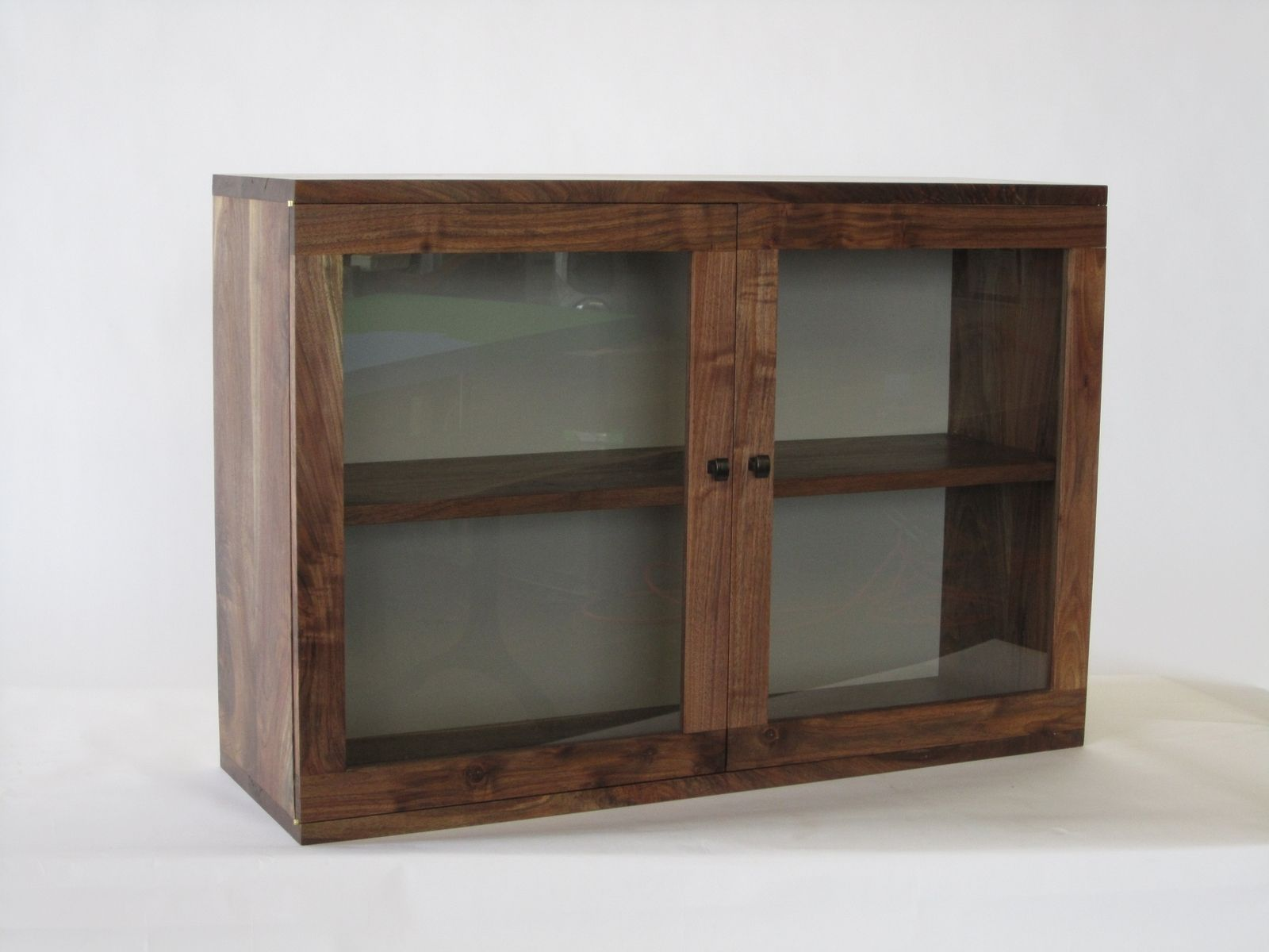 Custom Made Cabinets Custom Made Wall Hanging Book Cabinet By David Alexander