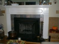 Handmade Custom Fireplace Mantel by Natural-Woodworks ...