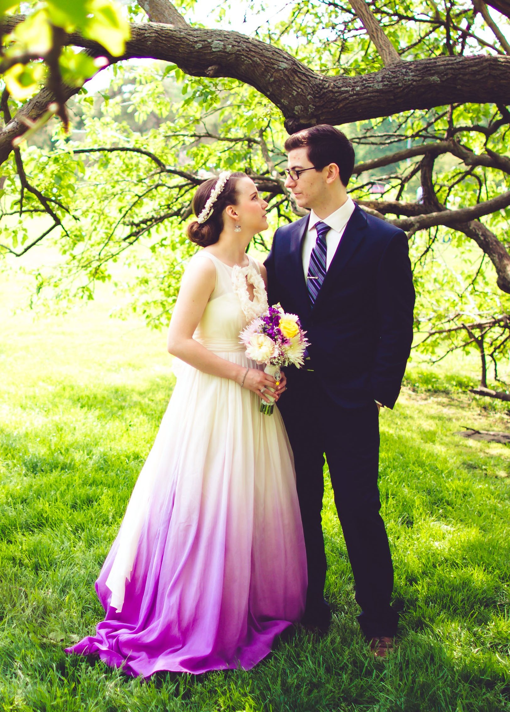 Fullsize Of Ombre Wedding Dress