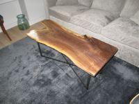 Handmade Live Edge Black Walnut Coffee Table by Iron Boar ...