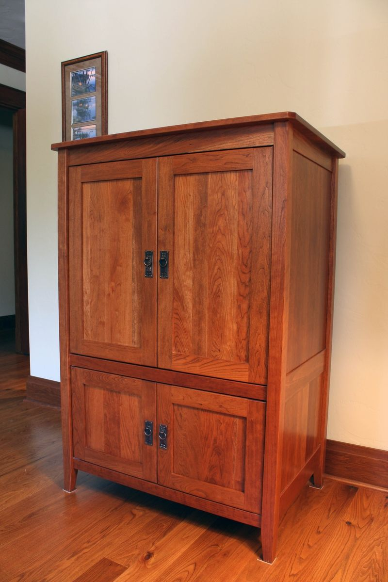 Media Schrank Custom Armoire Or Media Cabinet By Montana Cabinet & Canoe