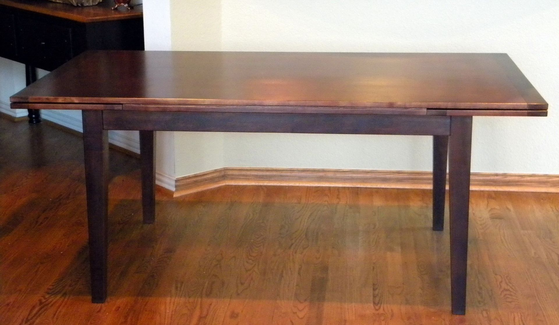 Table With Slide Out Leaves Handmade Dutch Pull Or Draw Leaf Dining Table By North