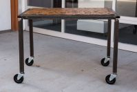 Handmade Alistair Tuton Phtotography Rolling Table Steel ...