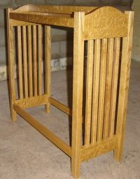 Hand Made New Solid Quarter Sawn Oak Wood Mission Style ...